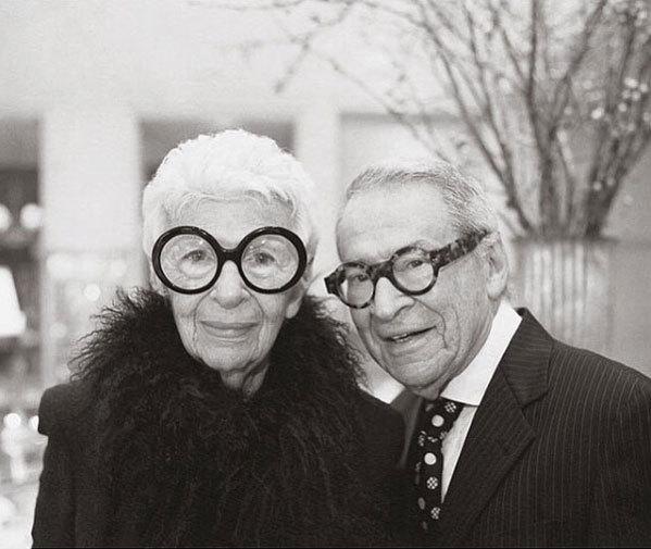 Iris och Carl Apfel