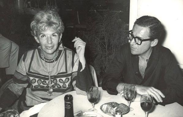 Iris och Carl Apfel unga