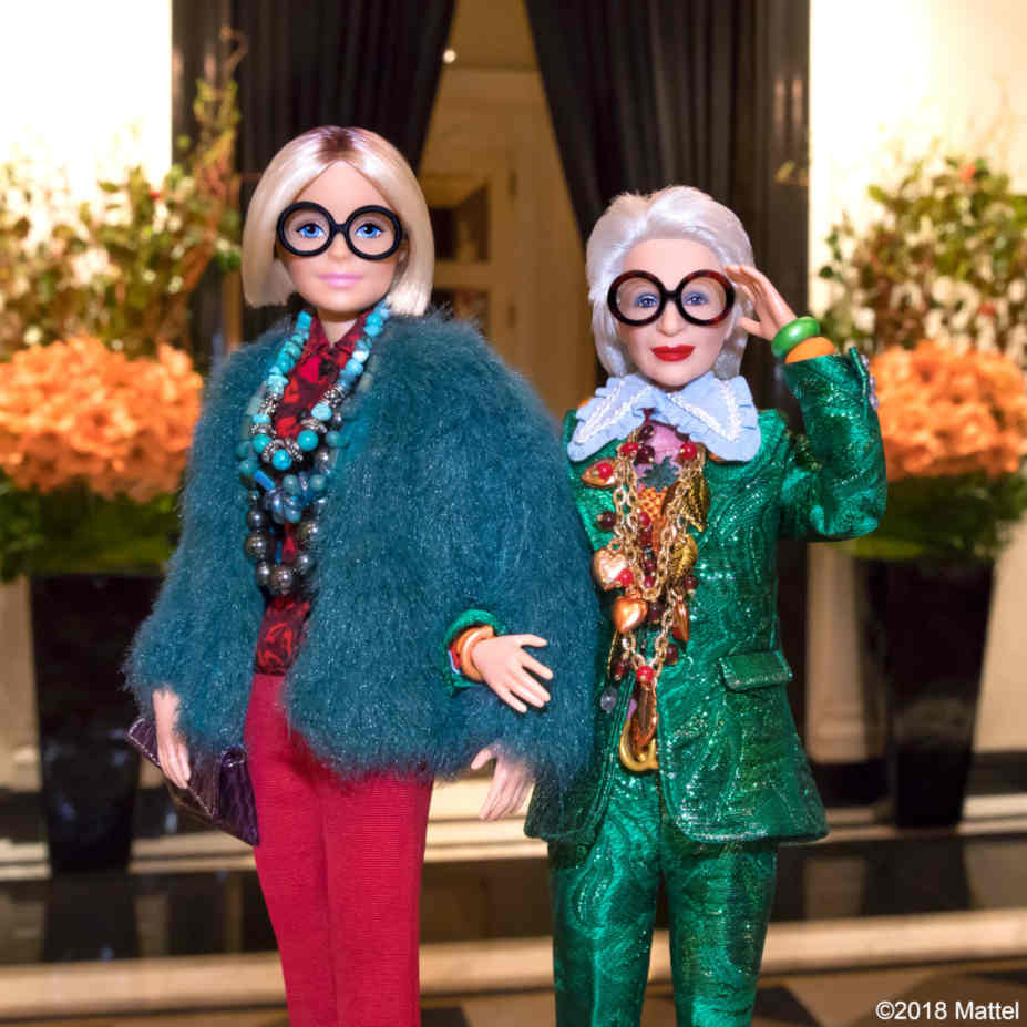 Iris Apfel Barbie