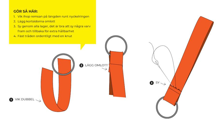 nyckelring DIY