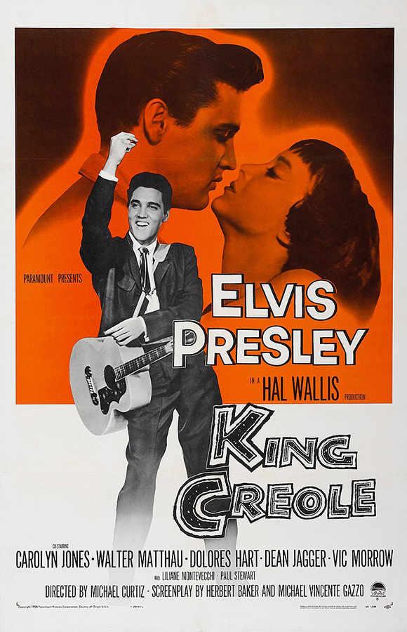 Elvis affisch King Creole