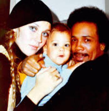 Quincy och Ulla Jones med barn